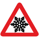 Знак Ш - Шипы со снежинкой