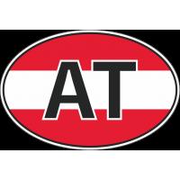 Флаг Австрии в овале