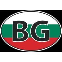 Флаг Болгарии в овале
