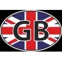 Флаг Великобритании в овале