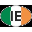 Флаг Ирландии в овале