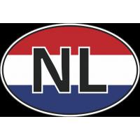 Флаг Нидерландов в овале