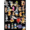 Стикерпак - набор наклеек   диснеевские мультфильмы