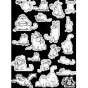 Стикерпак - набор наклеек кот Саймон