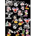 Стикерпак - набор наклеек Микки Маус