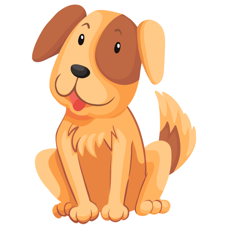Картинка на шкафчик щенок