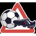Футбольный мяч и бутс