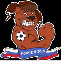 Русский Медведь Болельщик