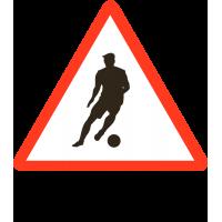 Футболист За Рулём (Знак на автомобиль)