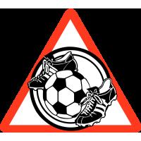 Футбольный мяч и бутсы (Знак для автомобиля)