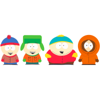 Южный Парк (Стэн, Кайл, Картмен, Кенни) South Park