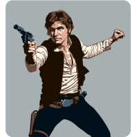 Хан Соло (Han Solo) Звездные Войны (Star Wars)