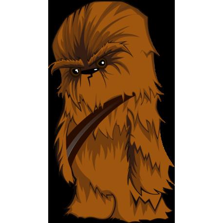 Мультяшный Чубакка, Чуи (Chewbacca) Звездные Войны (Star Wars)