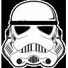 Шлем Имперского Штурмовика (Stormtrooper) Звездные Войны (Star Wars)