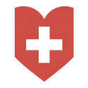 Сердце Флаг Швейцарии (Швейцарский Флаг в форме сердца)