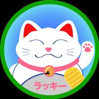 Японский Кот Счастья Манэки-Нэко