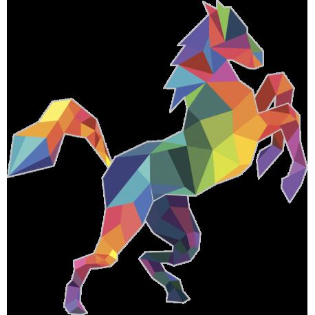 Граненые Животные: Лошадь Конь