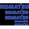 Комплект наклеек на Komatsu - Коматсу