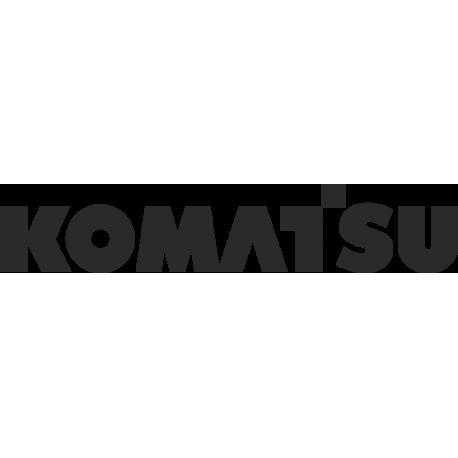Логотип Komatsu - Коматсу