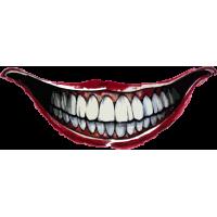 Татуировка Джокера из отряда сомоубийц - Улыбка