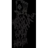 Татуировка Джокера из отряда сомоубийц - карты