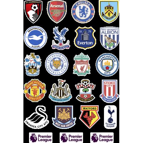 Логотипы футбольных команд англии