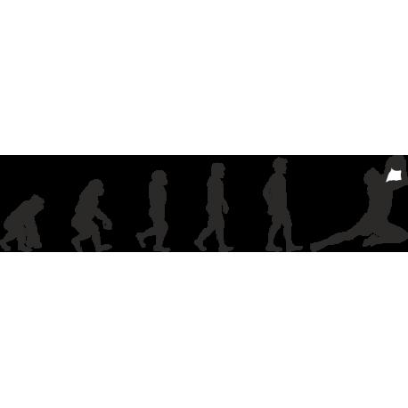 Эволюция от обезьяны до Футболиста 7