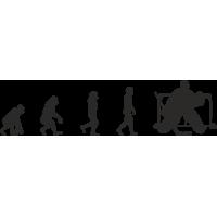 Эволюция от обезьяны до Вратаря
