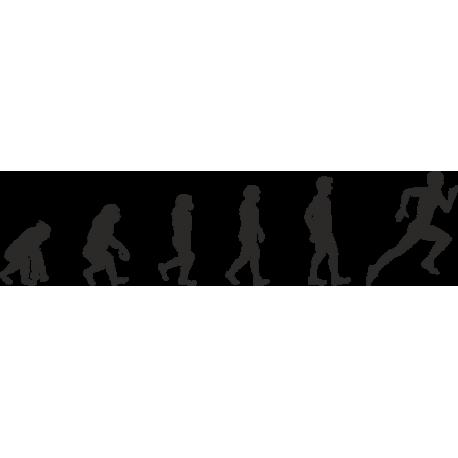 Эволюция от обезьяны до Бегуна 2