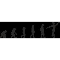 Эволюция от обезьяны до Танцора балета 3