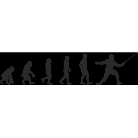 Эволюция от обезьяны до Фехтовальщика 1