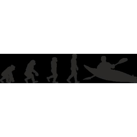 Эволюция от обезьяны до Спортсмена-байдарочника 2