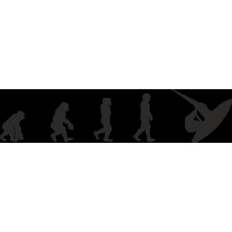 Эволюция от обезьяны до Виндсерфера 4