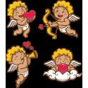 Набор Амуры На День Святого Валентина 14 Февраля Амурчики Сердца